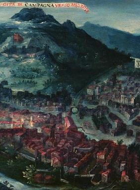 油画《坎帕尼亚风景》