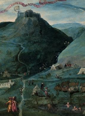 油画《卡拉尼奥讷风景》