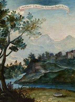 油画《坎皮亚诺风景》