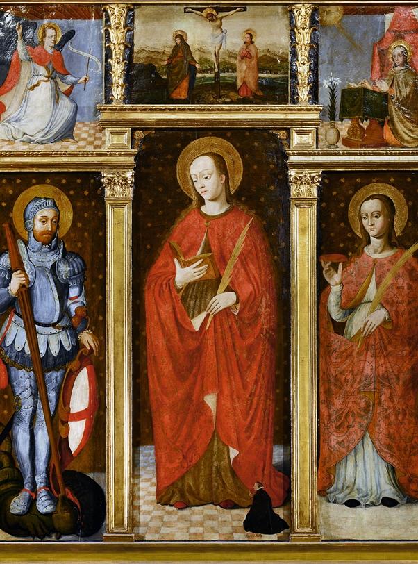 圣-德沃塔装饰屏