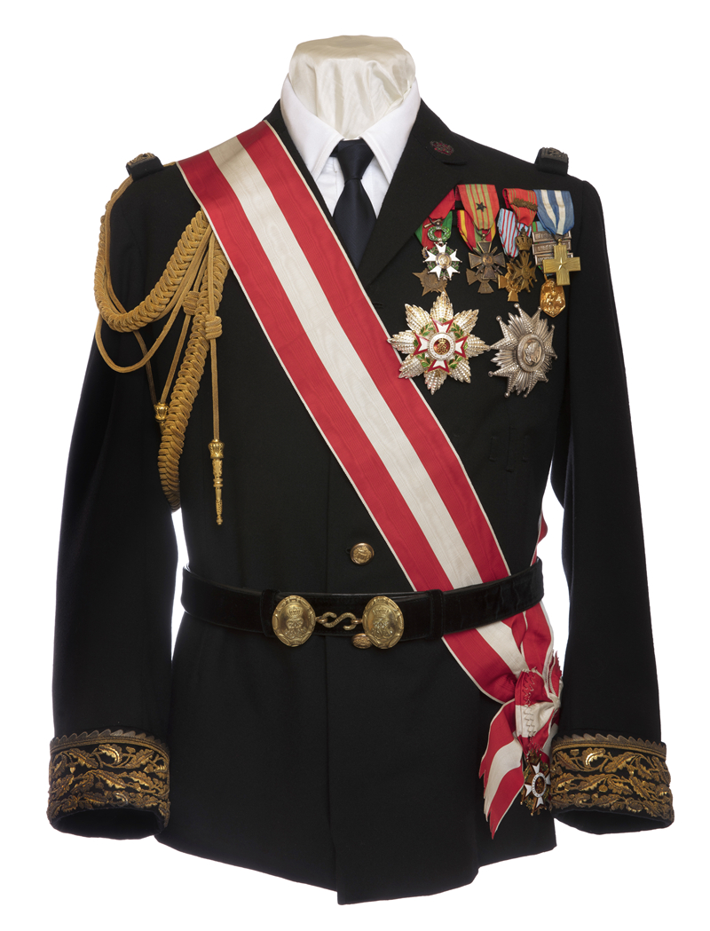 兰尼埃三世亲王仪式礼服