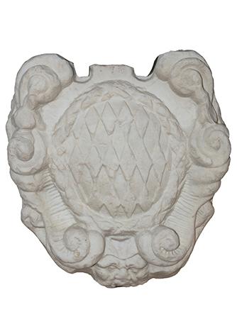 摩纳哥亲王家族大理石雕刻纹章
