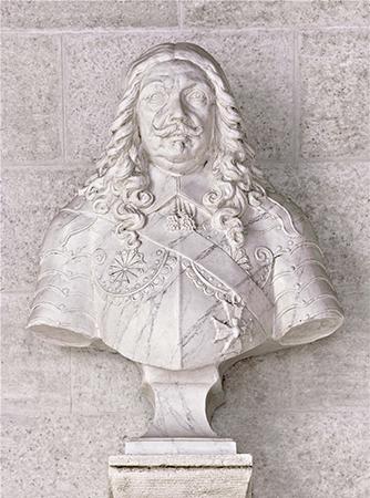 摩纳哥亲王奥诺雷二世半身像