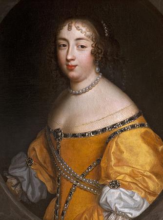 油画《玛丽-夏洛特·卡特琳娜·德·格拉蒙》