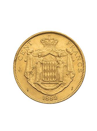 100法郎金币