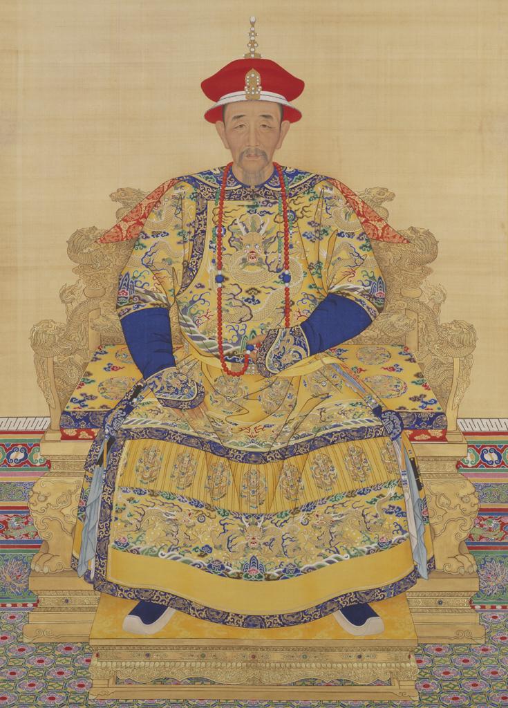 清圣祖康熙皇帝爱新觉罗·玄烨像