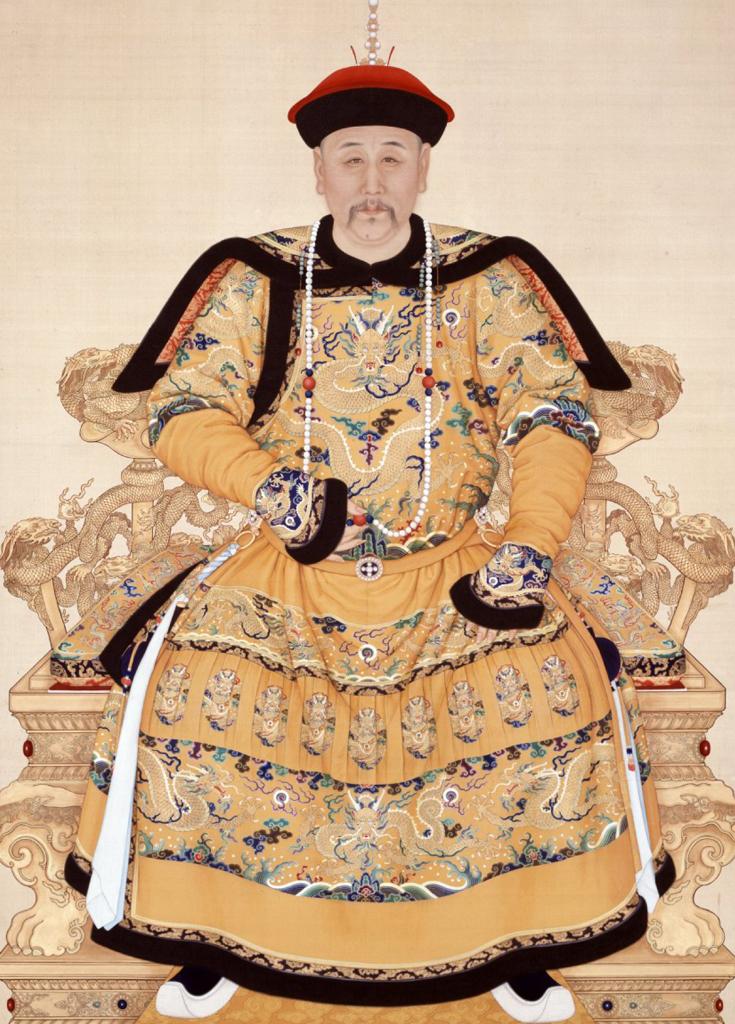 清世宗雍正皇帝爱新觉罗·胤禛像