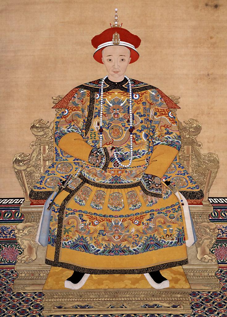 清文宗咸丰皇帝爱新觉罗·奕詝像