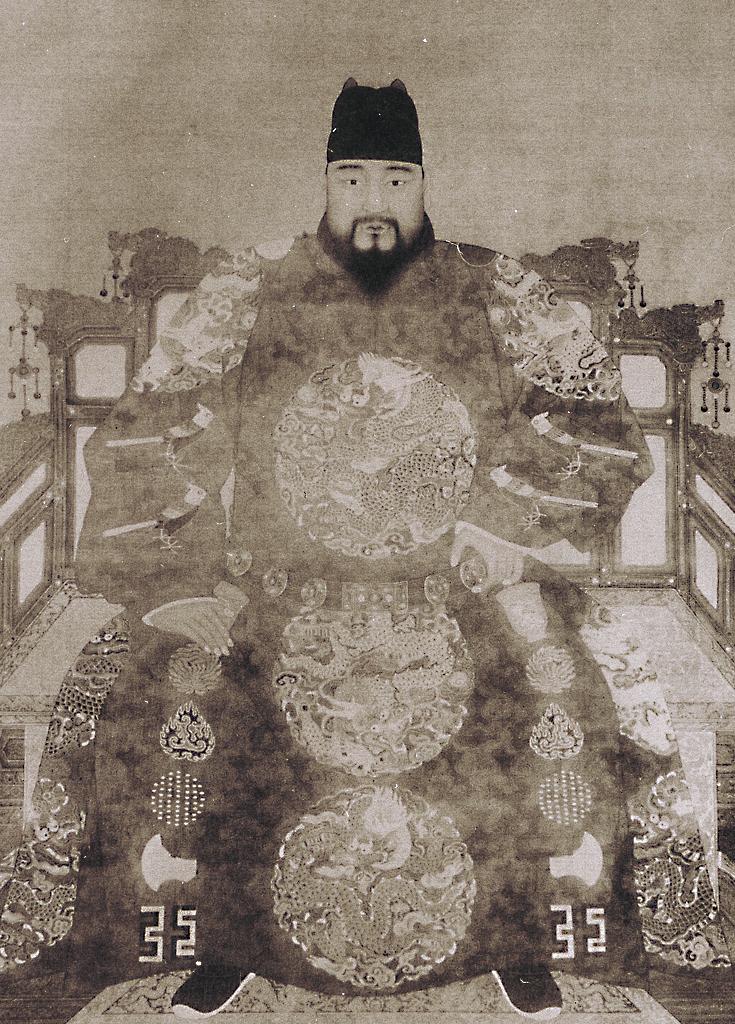 明英宗正统皇帝朱祁镇像
