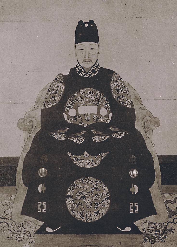 明光宗泰昌皇帝朱常洛像