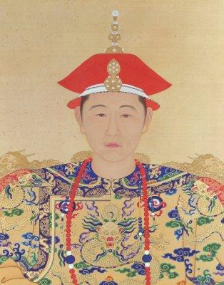 少年天子——年轻的康熙皇帝像