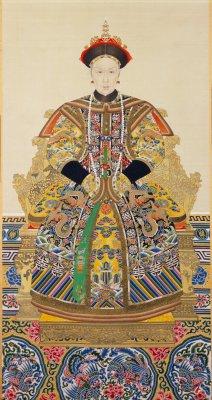 孝钦显皇后(慈禧)朝服像