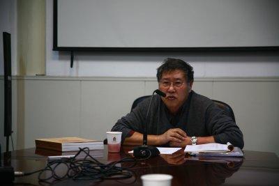 古书画研究中心邀请聂崇正先生举办讲座