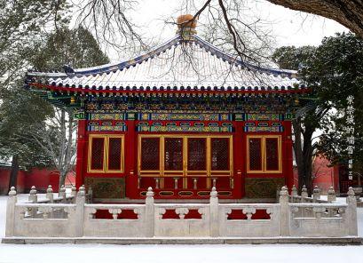 紫禁城的瑞雪